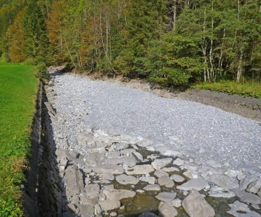 Wird das Wasser vollständig ausgeleitet, verschwindet der Lebensraum.